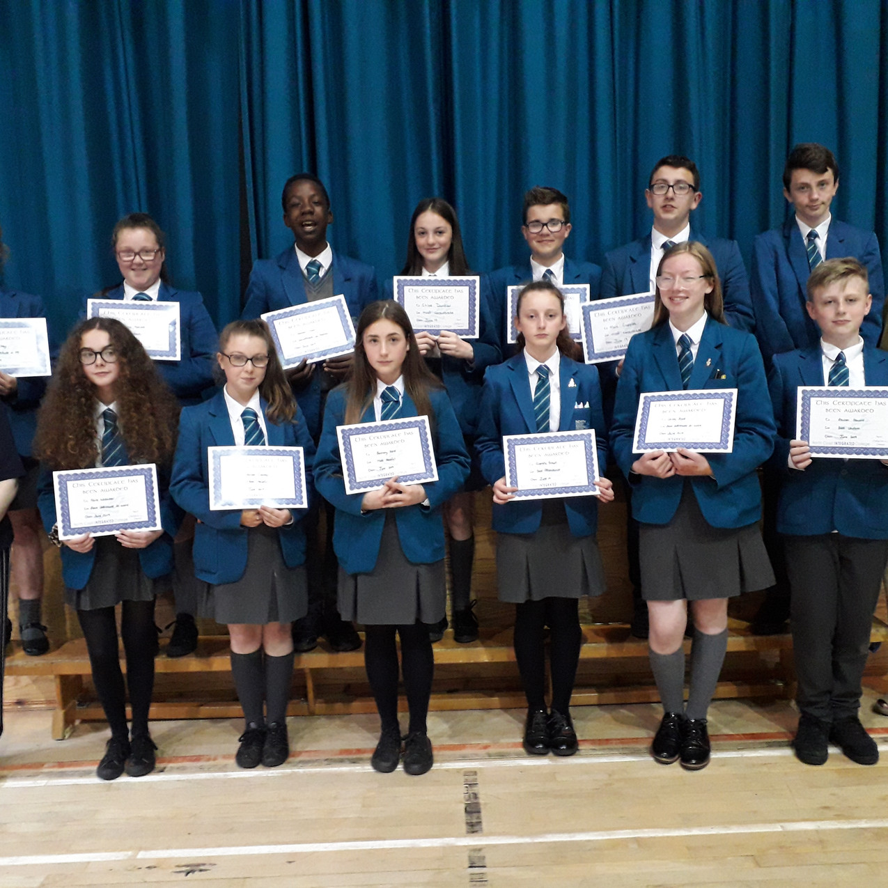 YEAR 9 Endeavour Awards - students pictu