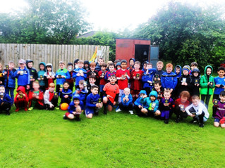 CLUB DAY - MINI SOCCER AND DEVELOPMENT SQUAD  AWARDS 2018/2019