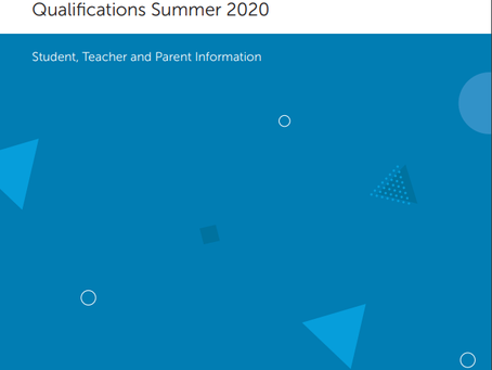 Awarding for GCSE, AS and A Level Qualifications Summer 2020