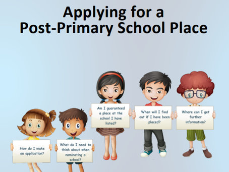 Applying for a Post-Primary School Place