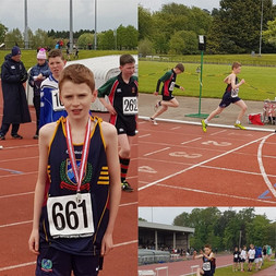 Congratulations to Oakgrove College pupil Louis Cole coming 2nd in the 800m final at the Ulster Athletics District C Championships.