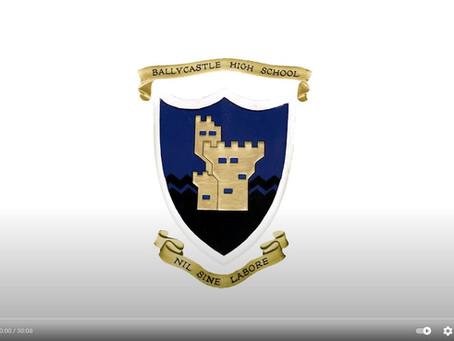 Ballycastle High School Virtual Prize Day 2021