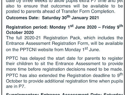 PPTC Key Dates Update 2020-21