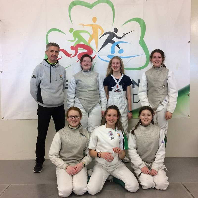 Sullivan Upper teams Coach at the Irish Team Championships