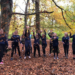 1.Autumn Walk with our Year 10 girls. How lucky are we to have Gransha Forest on our doorstep.
