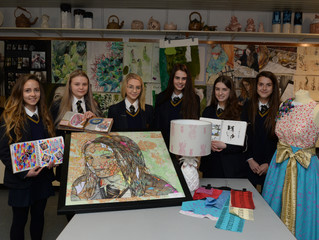 GCSE Top Candidates in NI CCEA Art and Design Examination