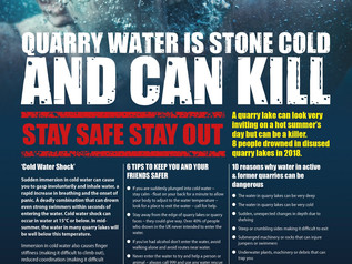 Stay Safe Out of Quarries