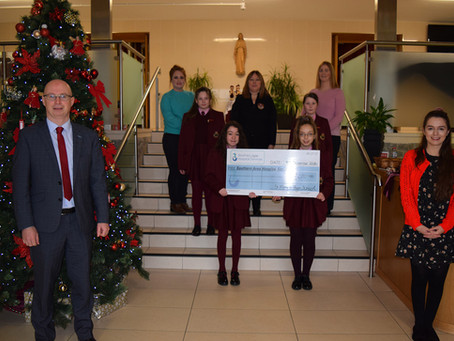 Southern Area Hospice Cheque Presentation