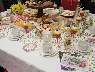 SWC Afternoon Tea