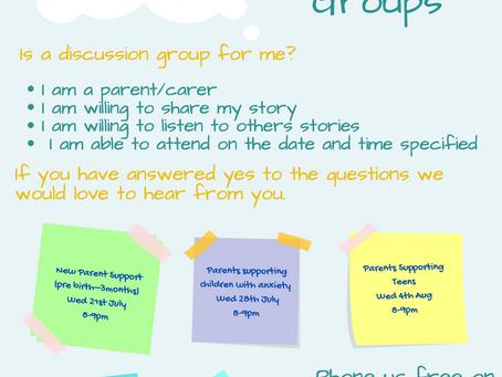 Parent Discussion Groups