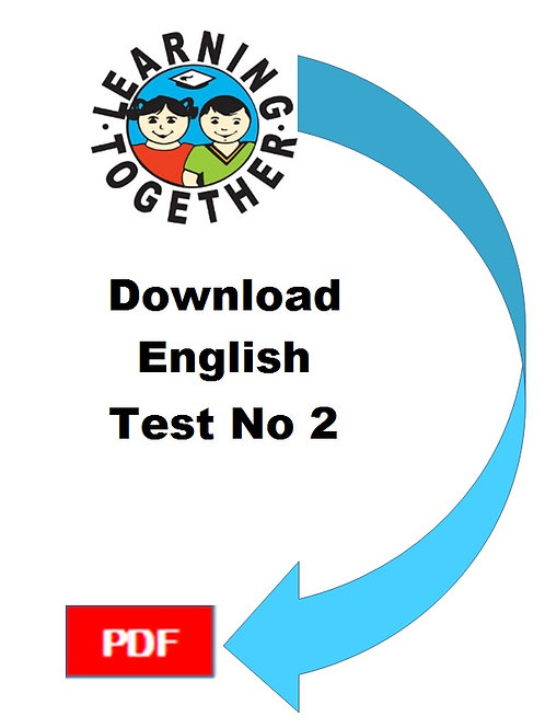 11+ English Test 2