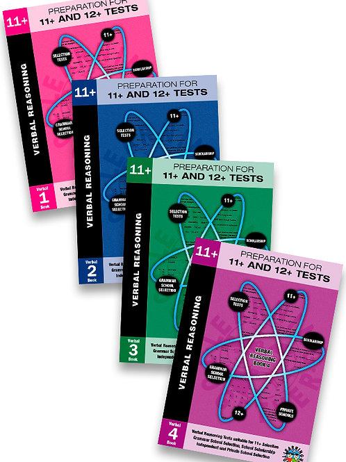 11+ Verbal Reasoning 4 Book Bundle