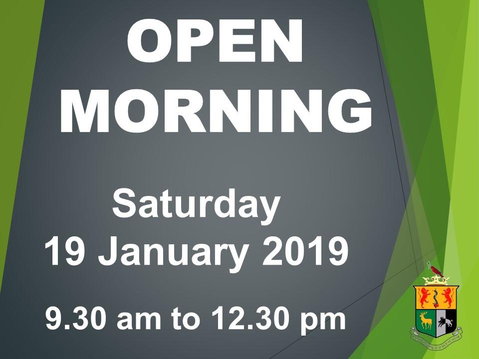 Open Morning website