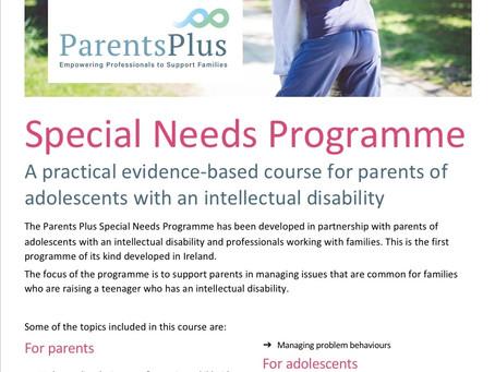 ParentsPlus- SEN Programme.