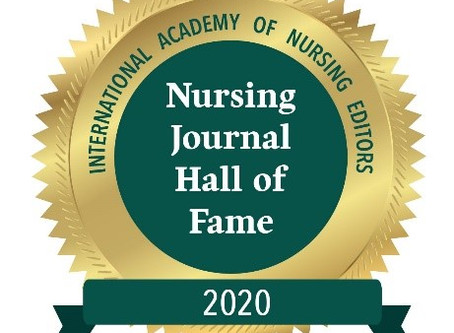 Evidence Based Midwifery inducted into the Nursing Journal Hall of Fame for 2020