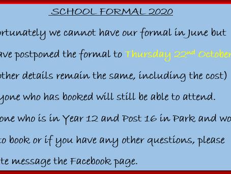 School Formal 2020