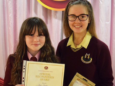 Special Recognition Award for November