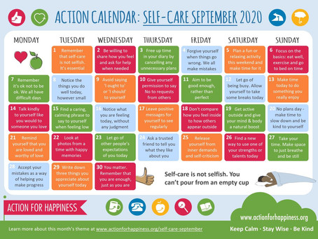 Make September the month of Self Care ❤️