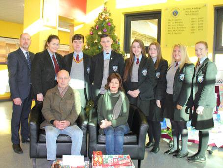 St. Pius X College Year 14 Christmas Hamper Collection