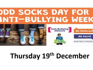 Odd Sock Day - Thursday 19th December