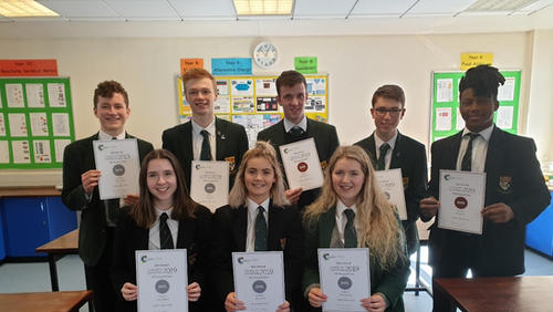 Year 14 pupils can enter the International Chemistry Olympiad Competition.