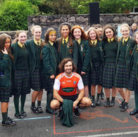 Students from year 12 GCSE P.E. class were working out with Bodycoach and PE with Joe Wicks! Organised by Matthew, Chaplain.