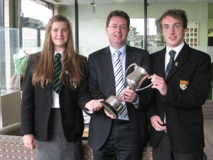 Junior and Senior Cup Winners – Outstanding Contribution to School Sports