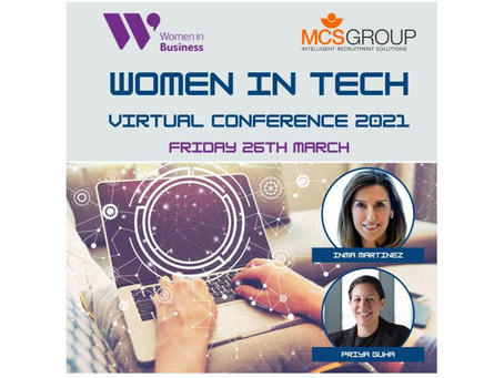 Women in Technology Virtual Conference- 26th March 2021