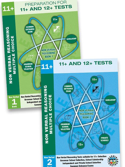11+ Non-Verbal Reasoning 2 Book Bundle in Multiple Choice Format