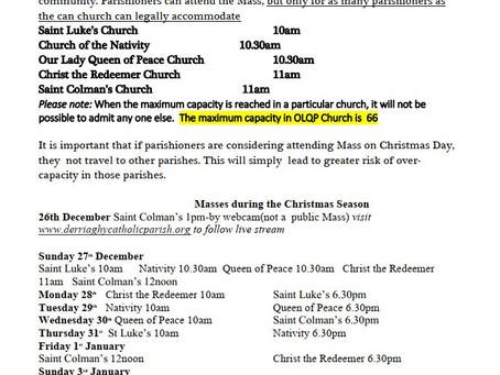 19th December Bulletin