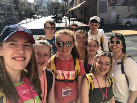 Geography Department Trip to LA & Las Vegas 2018