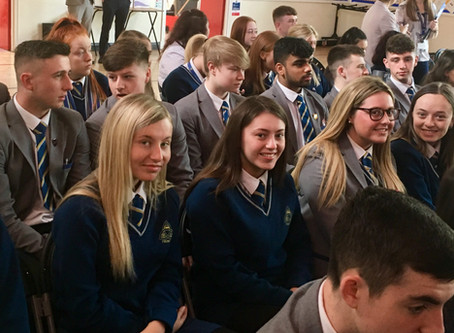 Year 14 Celebration Mass and Post-16 Prize-giving ceremony