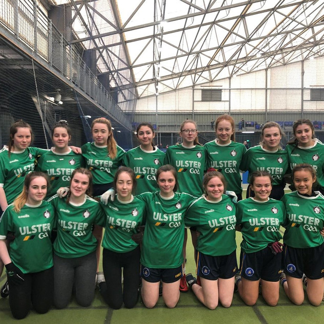 1.Team Foyle Gaelic Football Team who competed in the Cuchulainn Cup in Magherfelt. Team Foyle is made up of players from Oakgrove College and St Mary's.
