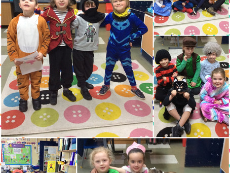 World Book Day @ Greenwood PS!
