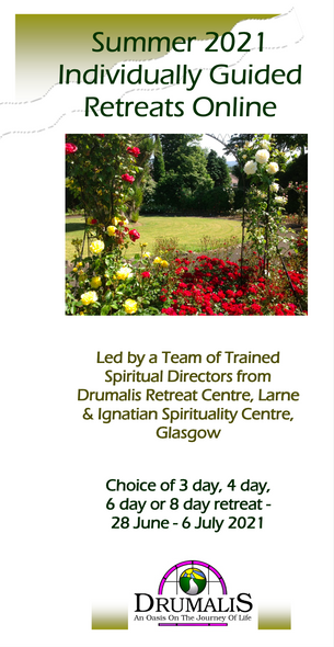 Online Individually Guided Retreats (June-July 2021)