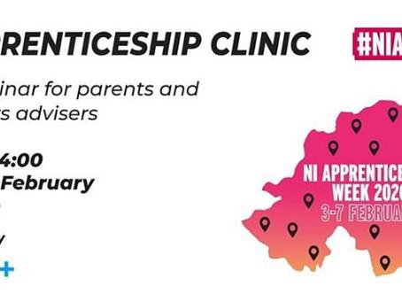 Apprenticeships Webinar next Monday