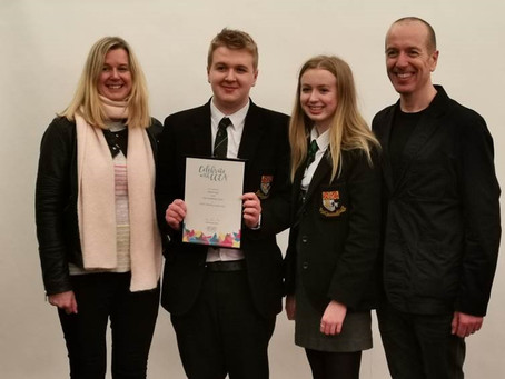 Top candidate at GCSE Moving Image Arts – Adam Bell