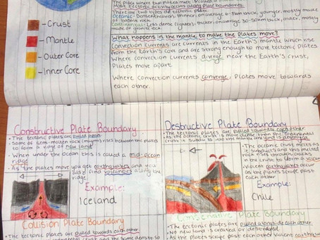 Exceptional Year 10 Geography Work