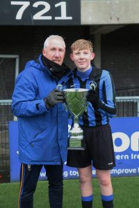 HAPPY NEW TROPHY FROM THE UNDER 15S