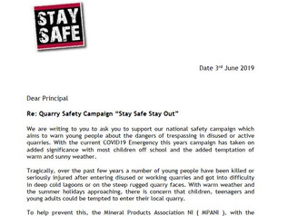 Stay Safe School Principals Letter