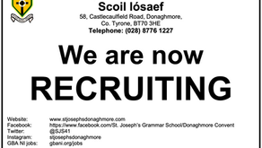 We are now Recruiting