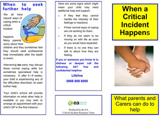 Support for parents with children going through difficulties