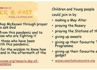 Diocese of Derry Day of Prayer & Fast