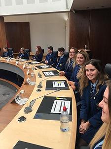 Justice league Council Visit Youth Voice