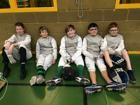 Fencing – Sullivan at Round 5 of the NI Junior Foil Series and the Belfast Open