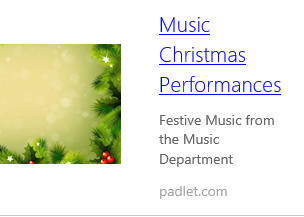 Christmas Music Virtual Recordings