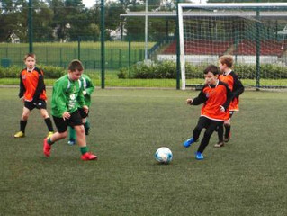 THE NEW UNDER 9S KICK OFF THEIR AQUINAS CAREERS
