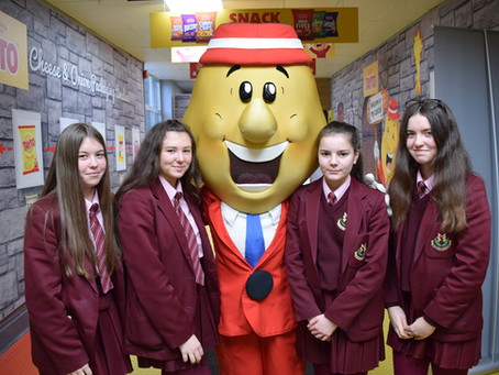 Year 11 Business Students Visit Tayto Factory