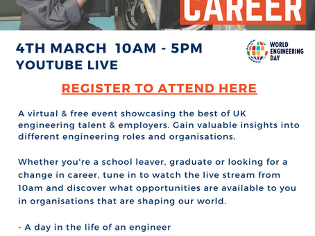 Engineer Your Career- Virtual Event