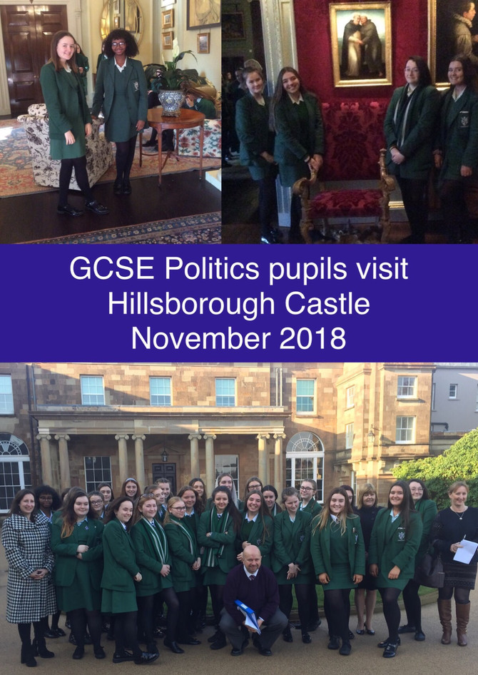 GCSE Politics Visit Hillsborough Castle